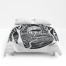 ONE FALL NIGHT Comforters