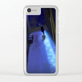 gotta be starting something Clear iPhone Case