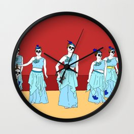 Naughty Nurses Wall Clock
