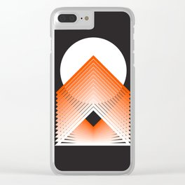 Supra Moon Clear iPhone Case