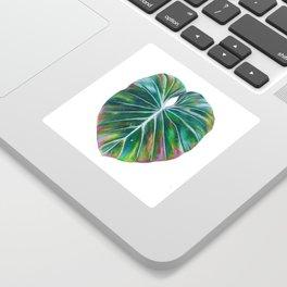 Rainbow Leaf Sticker