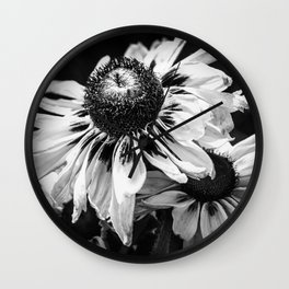 Rudbeckia Wall Clock