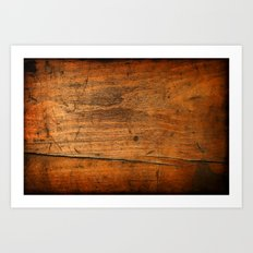 Wood Texture 340 Art Print