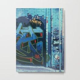Toronto Graffiti Metal Print