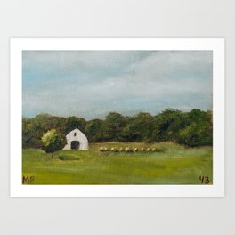Oklahoma 43/100 Art Print