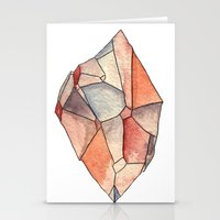 crystal Stationery Cards featuring Crystal  by Matt Smith