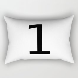 1 - One Rectangular Pillow
