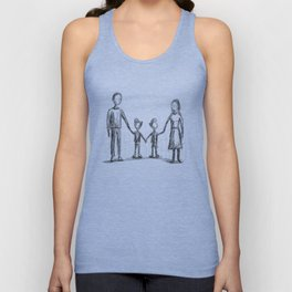Family - The Twins Unisex Tank Top