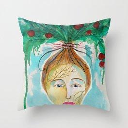 Pomona The Goddess of Fruitful Abundance Throw Pillow