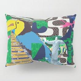 Mews in Rio de Janeiro (Typography) Pillow Sham