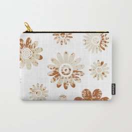 Shabby Flowers Carry-All Pouch