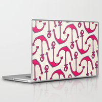 anchors Laptop & iPad Skins featuring Anchors by Anne Waters