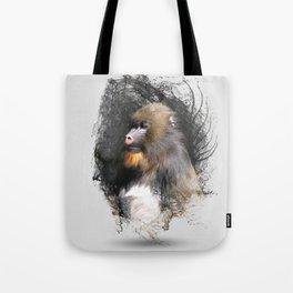 Zen Master Mandrill Tote Bag