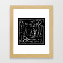 Scissors Gerahmter Kunstdruck