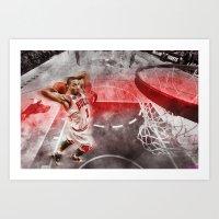 Derrick Rose Poster Art Print