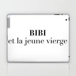 BIBI et la jeune vierge Laptop & iPad Skin