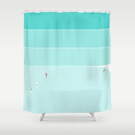 Free at sea #1 Shower Curtain