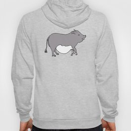 Cute Potbelly Pig Hoody