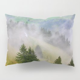 Up the Mountain Pillow Sham