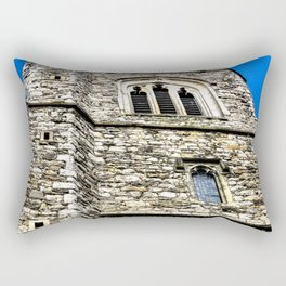 Medieval Church Rectangular Pillow