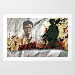 The Hired Man Art Print