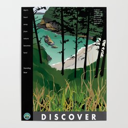 Discover Dead Man's Cove with quotes Poster