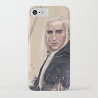 thranduil iPhone & iPod Cases featuring Thranduil by Wildzyria