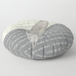 ANNABEL LEE (Allan Poe) Floor Pillow