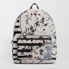 Attraction - circle graphic Backpack