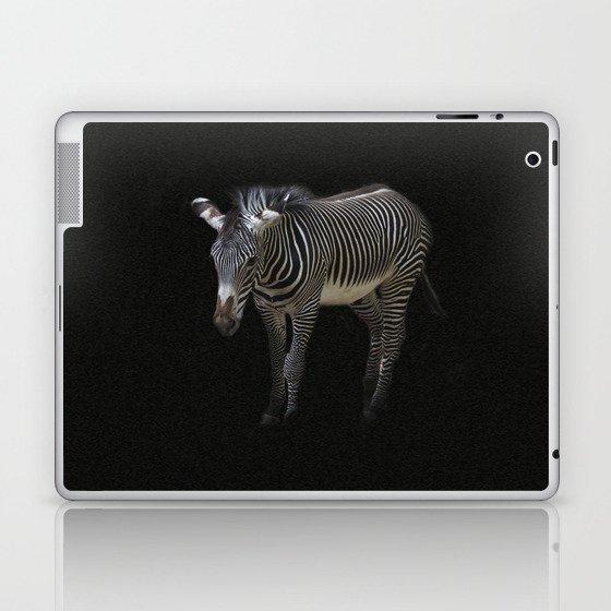 Black and White on Black Laptop & iPad Skin