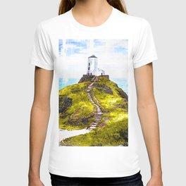 Lighthouse Ynys Llanddwyn - For Lighthouse Lovers T-shirt