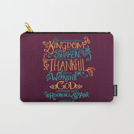 Kingdom That Cannot Be Shaken Carry-All Pouch