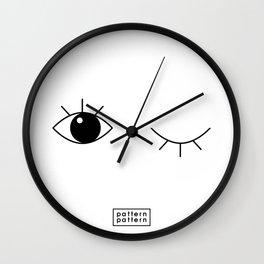 BLINK / pattern pattern Wall Clock