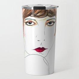 Modern Flapper Travel Mug