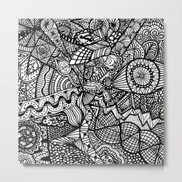 Doodle 5 Metal Print