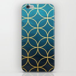 Blue Hue iPhone Skin