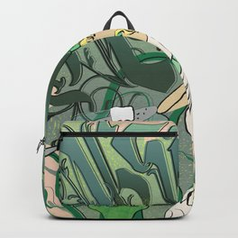 Art Nouveau Absinthe Poster Backpack