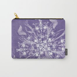 ghost bouquet and butterflies Carry-All Pouch