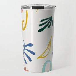 Vintage Plants Travel Mug