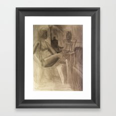 Studio Girls Framed Art Print