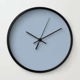 Celestial Blue Wall Clock