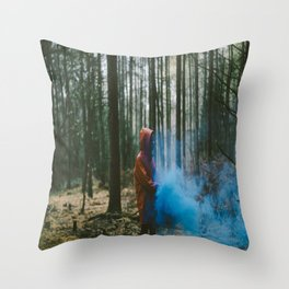 Where Do the Lost Ones Go? Throw Pillow