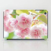 sakura iPad Cases featuring sakura by yumehana design fine art photography