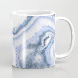 Airy Blue Agate Coffee Mug