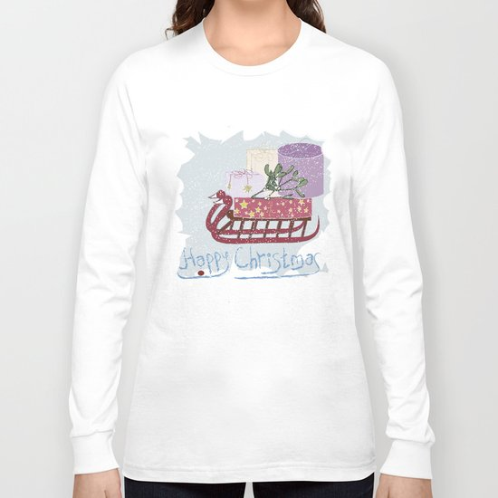 Retro . Vintage. . The Feast Of The Nativity . Long Sleeve T-shirt