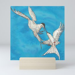 Arctic Terns Mini Art Print