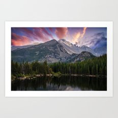 The Colorado Rockies Art Print