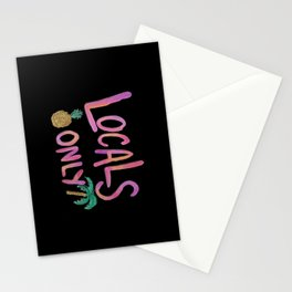 Locals Only BLK Stationery Cards