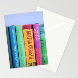 Row of Colorful Vintage Agatha's Stationery Cards