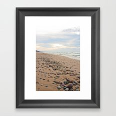 A Stones Throw ... Framed Art Print